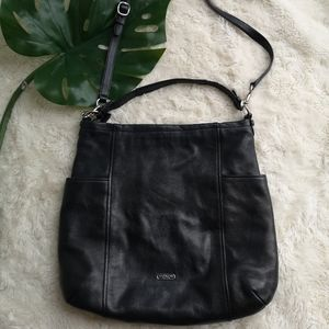 Coach leather carry all